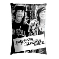 Vic Fuentes and Kellin Quinn. Pillow Case Cover Custom Design. Select the option for size