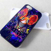 Dj Deadmaus Mickey Mouse NDR for iPhone 4,4S,5 case Hard Plastic Cover