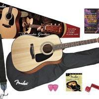 Fender DG-8S Acoustic Guitar Value Pack | GuitarCenter
