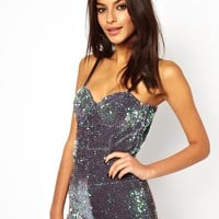 Motel Sequin Playsuit