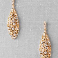 LAMIA CRYSTAL DROP EARRINGS