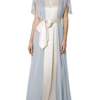 Jenny Packham | Waterfall long silk robe