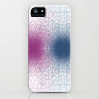 Scattered Lines Converge iPhone & iPod Case by alsoCAN
