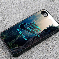 nike just do it mountain iPhone 4/4s,iPhone 5/5s,Samsung S2 i9100,Samsung Galaxy S3,Samsung Galaxy S4