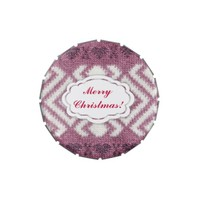 Merry Christmas winter fresh pink Jelly Belly Tins