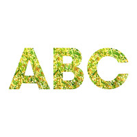 Rosie Brown Botanical Garden Decorative Letters