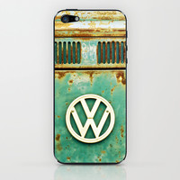 VW Retro iPhone & iPod Skin by Alice Gosling