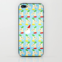 Unicorn Santa And Elves iPhone & iPod Skin by That's So Unicorny