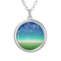 Your Name Under the Stars Pendants