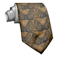 Tiger Retro Graphics Hakuna Matata Gifts Custom Ties