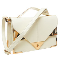 Metal Trim Crossbody Bag | Arden B.