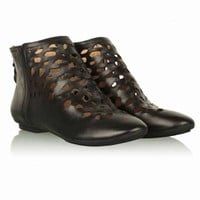 House of Harlow 1960 Tate Ankle Boots in Black