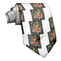 Santa Have a Nice Day and a Better Night.jpg Custom Tie