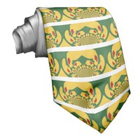 Vintage Rastas Color One Lovely Hakuna Matata.jpg Tie