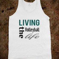 Skreened Living The Volleyball Life Tank Top