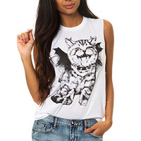 Demon Kitty T-Shirt (Sleeveless)