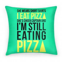 She Wears Short Skirts, I Eat Pizza