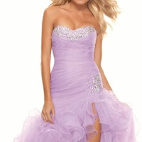 Organza Dress by Paparazzi by Mori Lee