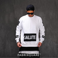 Salute 18 Maria Cotton Fleece Sweat Shirt
