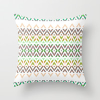Mix #308 Throw Pillow by Ornaart