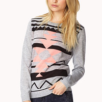 Cozy Southwestern Pattern Sweater