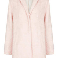 FLUFFY SWING BOYFRIEND COAT