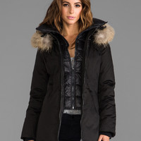 Soia & Kyo Clea Coat in Black