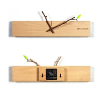 Sprout Wall Clock