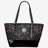 Anne Klein Present Time Cheetah Print Medium Tote Bag|Stage Stores