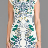 BCBGMAXAZRIA Ellena Dress in Tiger Lily