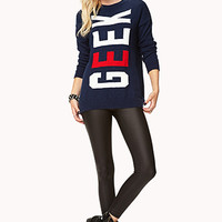 Cool Girl Geek Sweater