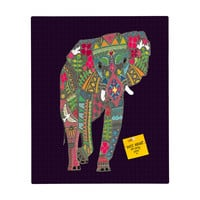 Sharon Turner Painted Elephant Rectangular Magnet Board