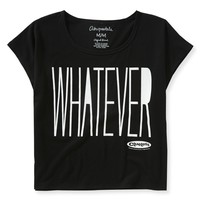WHATEVER BOXY GRAPHIC T