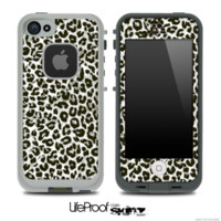 Cheetah Animal Print V2 Skin for the iPhone 5 or 4/4s LifeProof Case