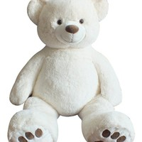 "Giant Teddy Bear 40"" - Cream Color"