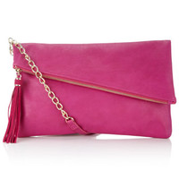 Diagonal Zip Across Body Bag | Pink | Accessorize