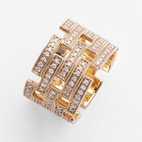 Dana Rebecca Designs 'Katie Z.' Diamond Cigar Band Ring | Nordstrom