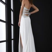 Jasz Couture Dress 5007 at Peaches Boutique