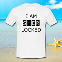 i am sherlocked - tshirt S,M,L,XL