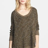 Free People 'Po Jeepster' High/Low Sweater | Nordstrom