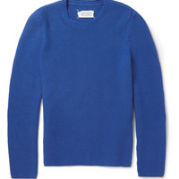 PRODUCT - Maison Martin Margiela - Chunky Knit Cotton Sweater - 395372 | MR PORTER
