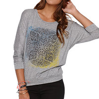 Workshop Henna Long Sleeve Crew Tee at PacSun.com