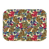 Kess InHouse Julia Grifol My BooBooks Owls Placemat, 18 by 13-Inch