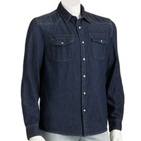 Urban Pipeline® Denim Western Shirt - Men