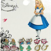 Earring Pack - Alice In Wonderland - Set 6