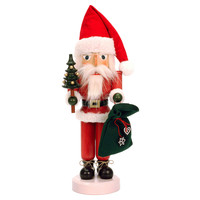 "17"" Santa Nutcracker w/ Presents"
