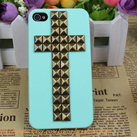 Stud Case Apple Iphone 4,Iphone 4gs, Iphone 4s