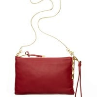 Badgley Mischka Janine Nappa Crossbody Clutch