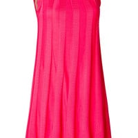 M Missoni - Patterned Knit Dress in Fuchsia