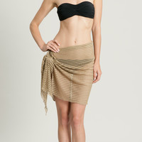 Fishbone Braid Sarong - FB-770